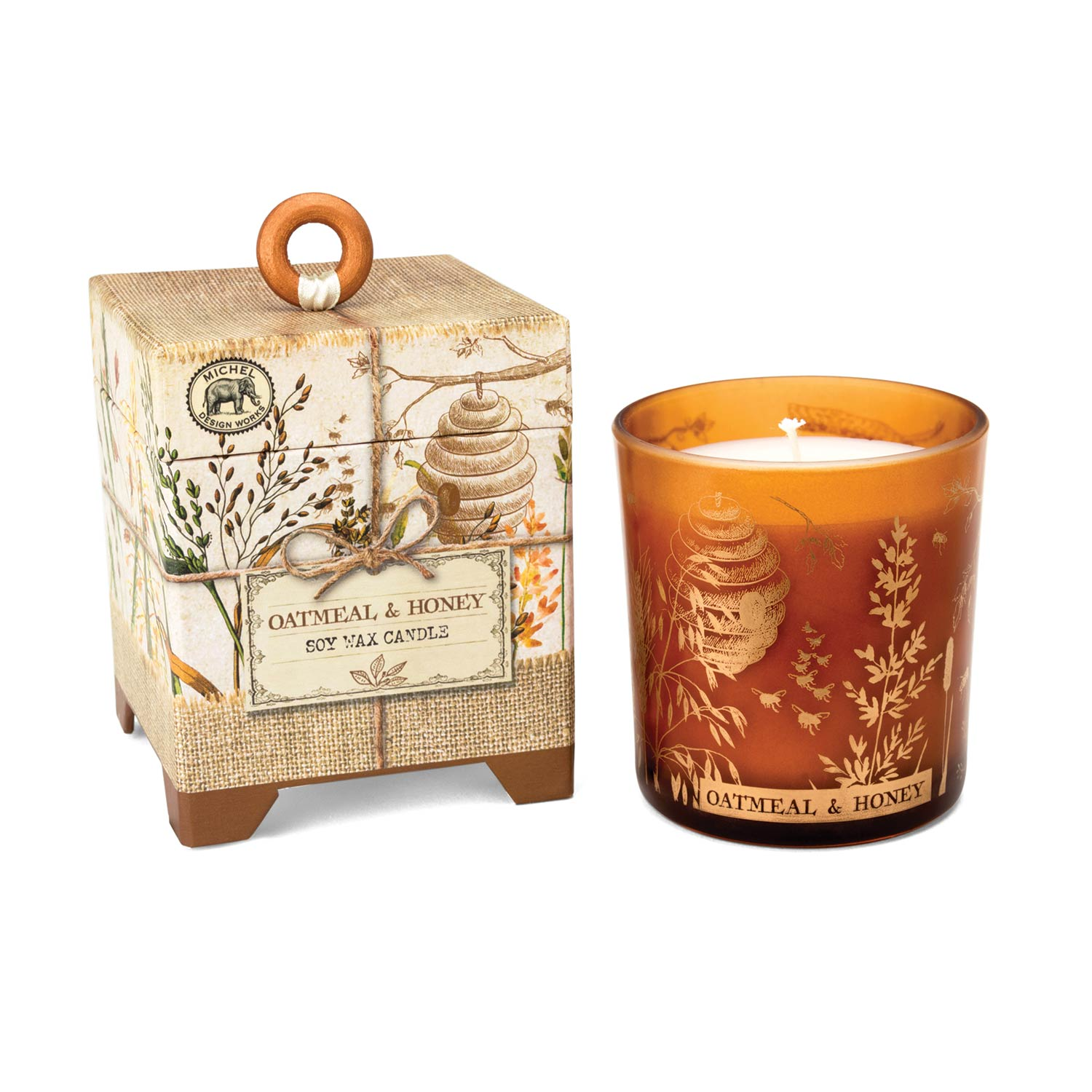 Oatmeal & Honey 6.5 oz. Soy Wax Candle