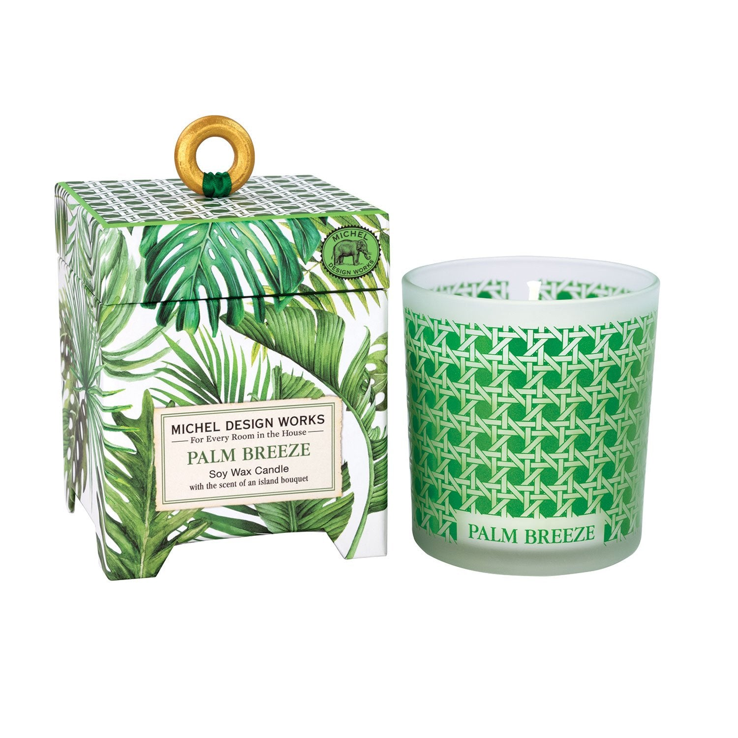 Palm Breeze 6.5 oz. Soy Wax Candle