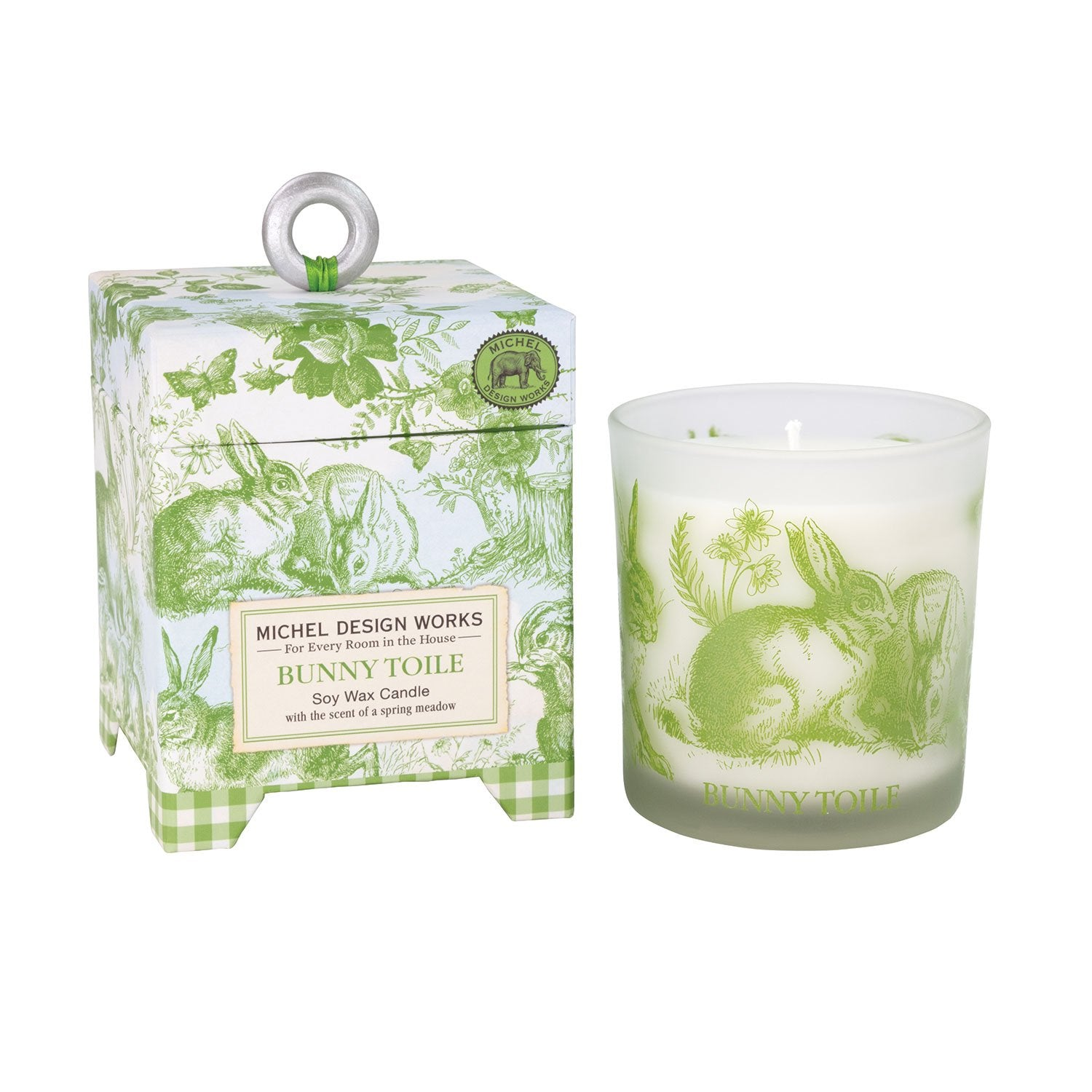 Bunny Toile 6.5 oz. Soy Wax Candle