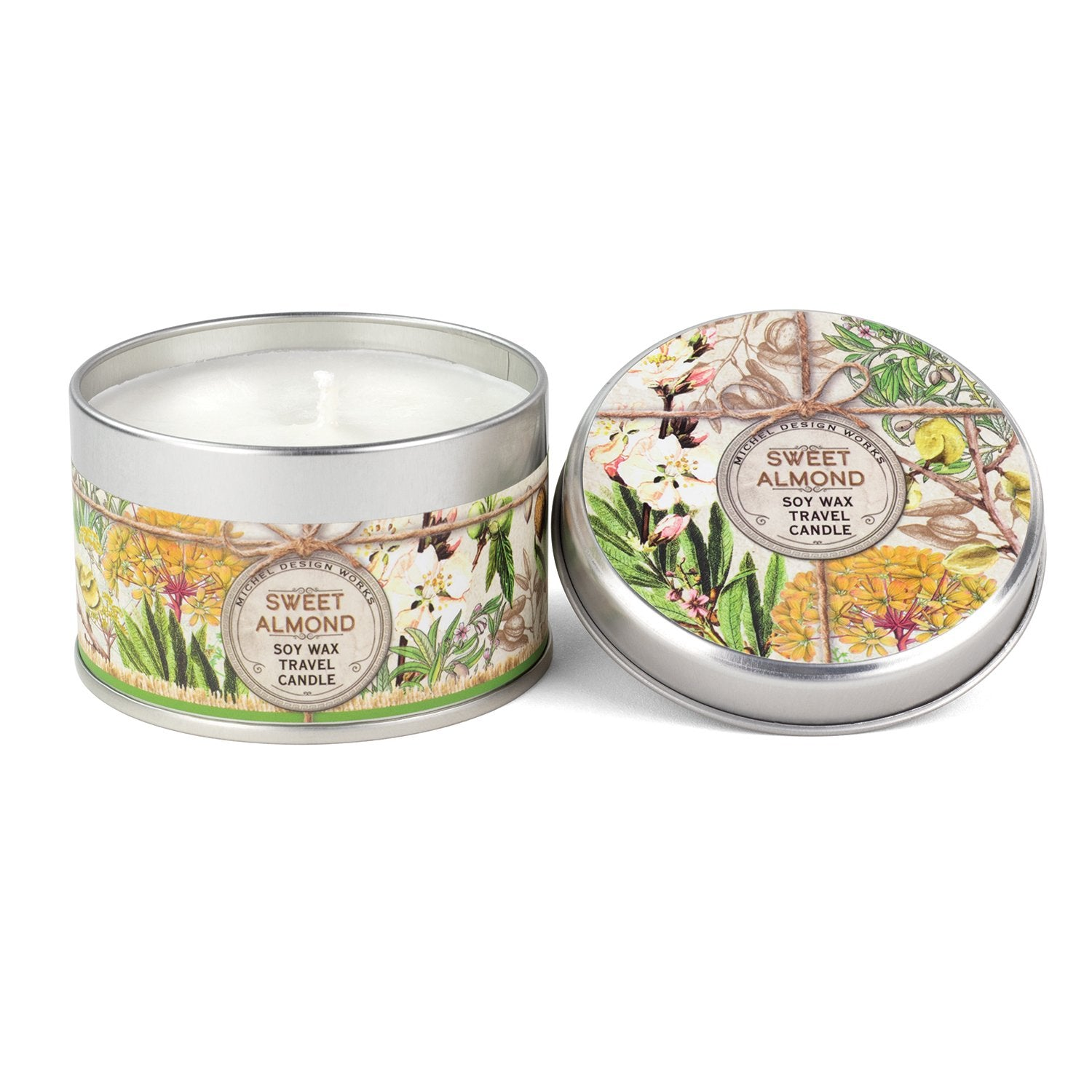 Sweet Almond Travel Candle