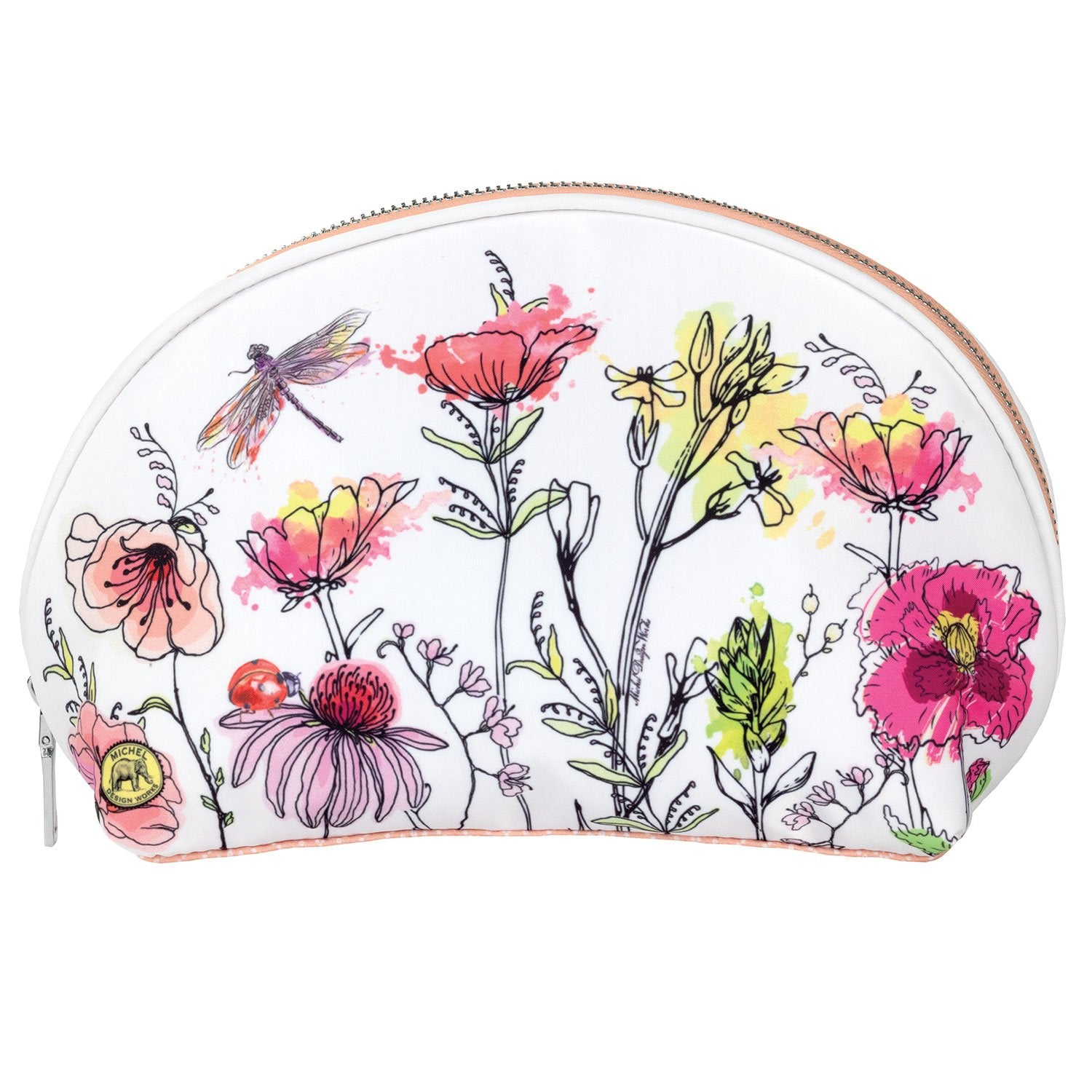Posies Travel Cosmetic Bag