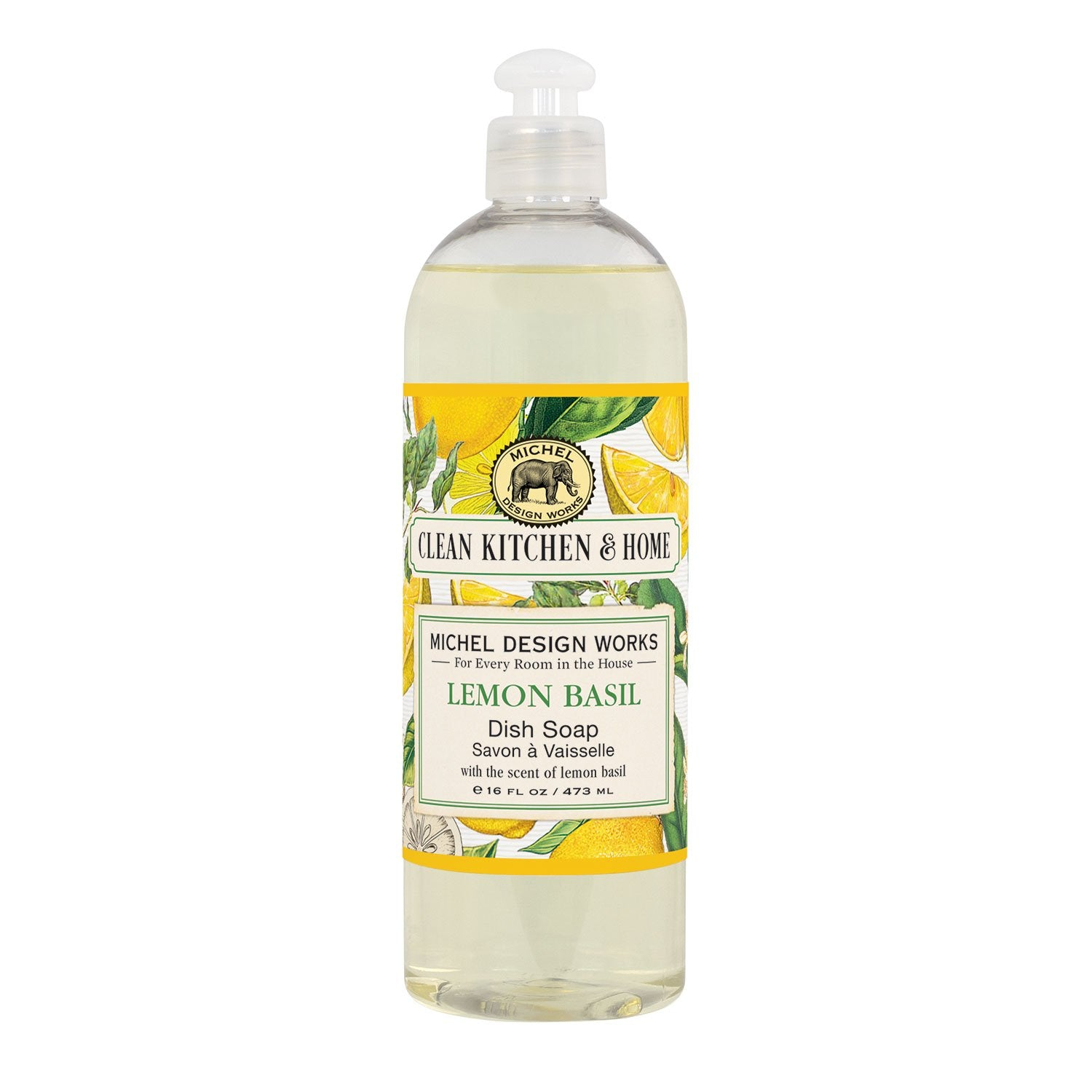Michel Design Works Lemon Basil Dish Soap Michel Design Works