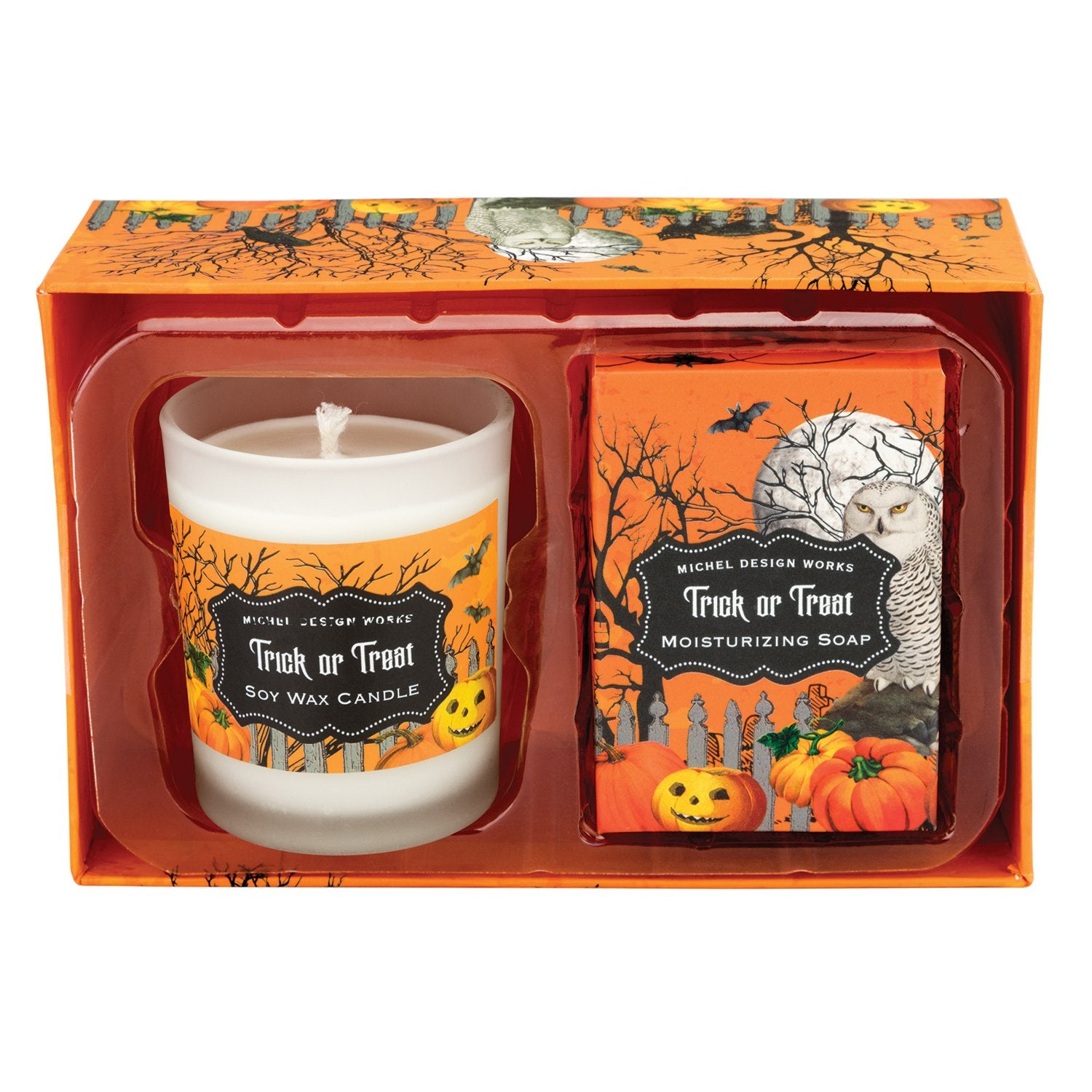 Trick or Treat Candle and Soap Gift Set