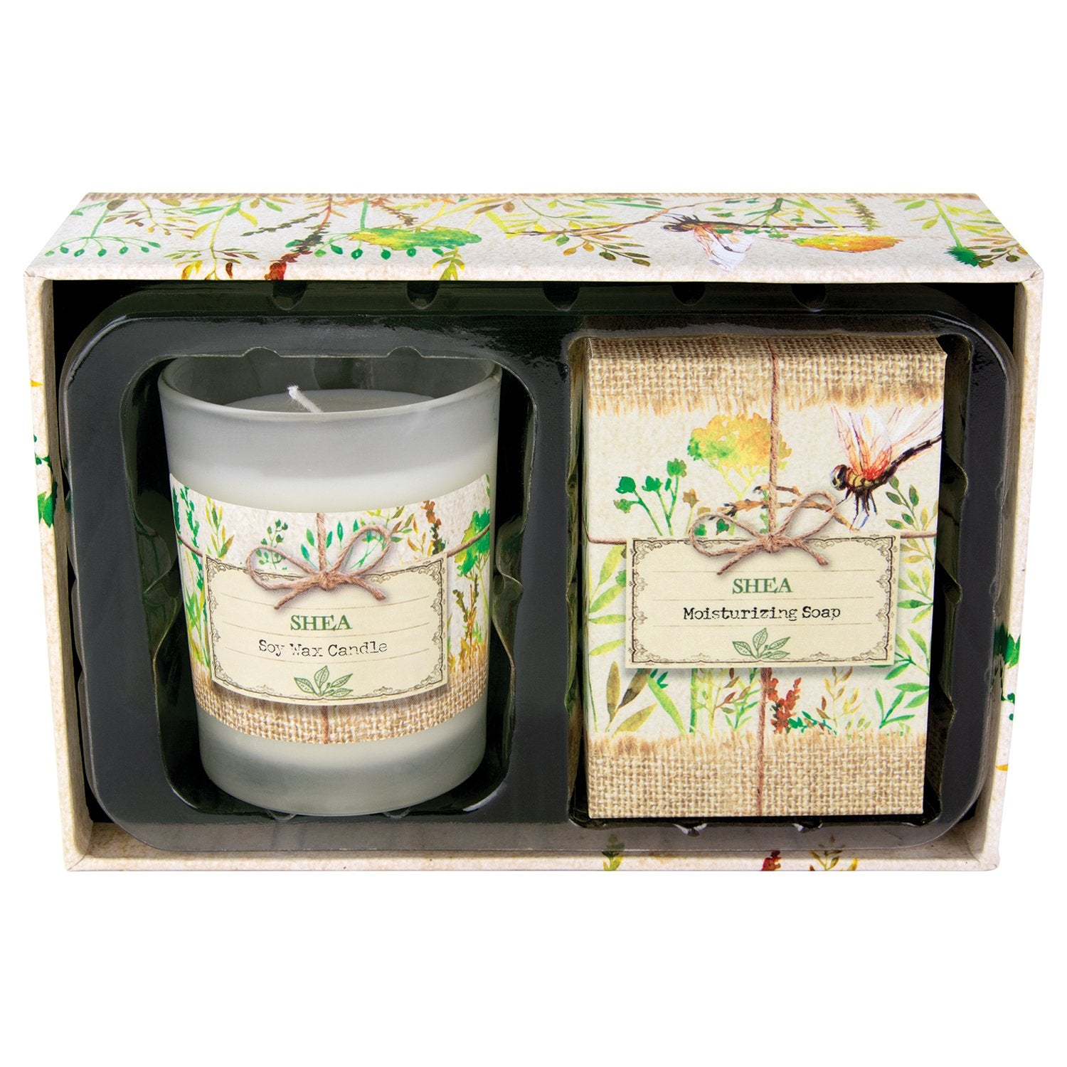 Shea Candle and Soap Gift Set