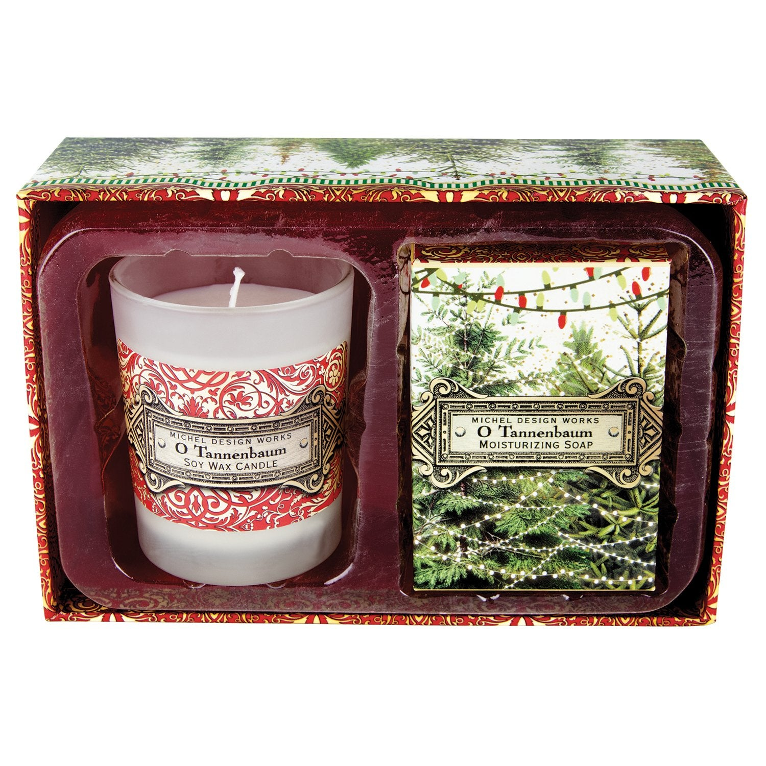 O Tannenbaum Candle and Soap Gift Set