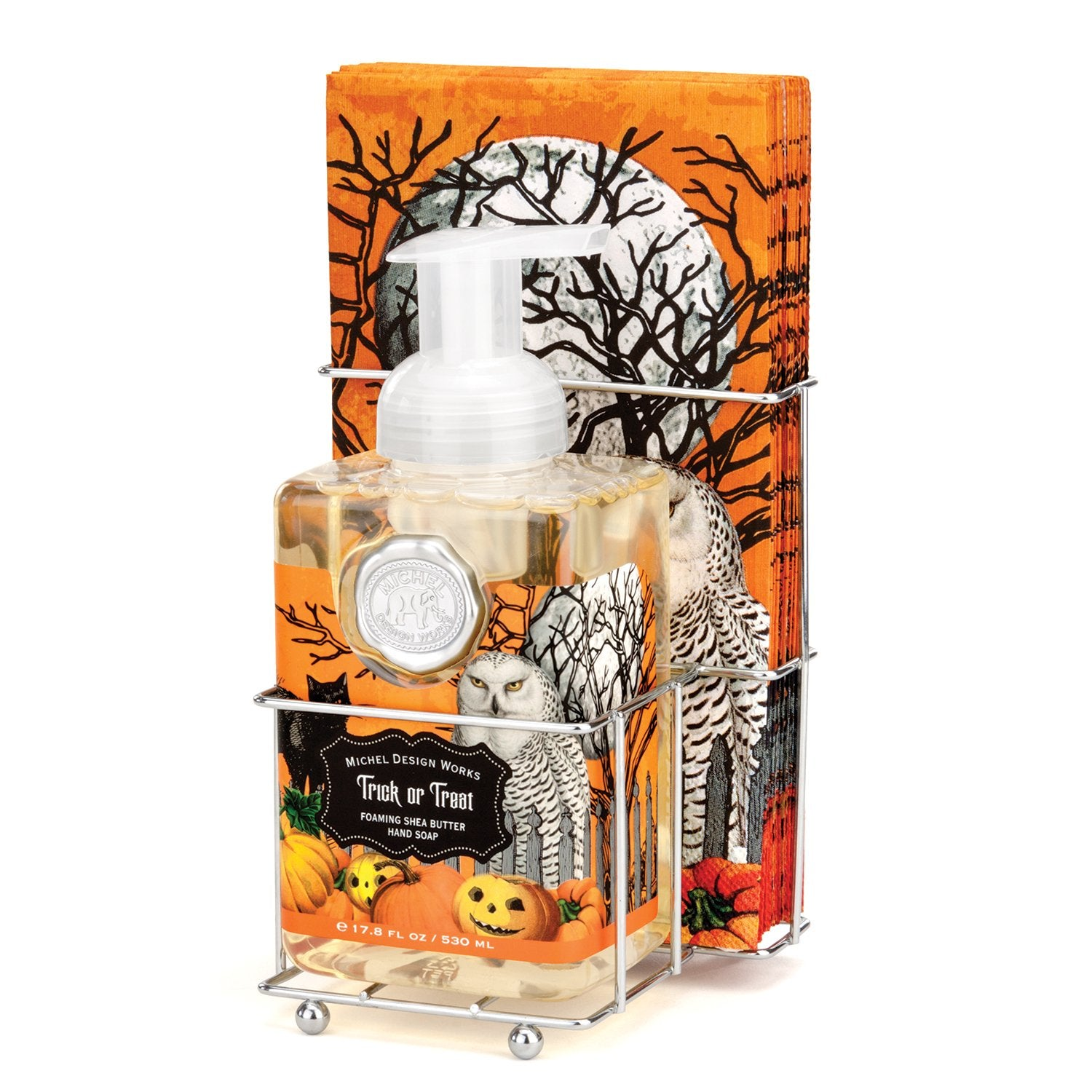 Trick or Treat Foaming Hand Soap Napkin Set