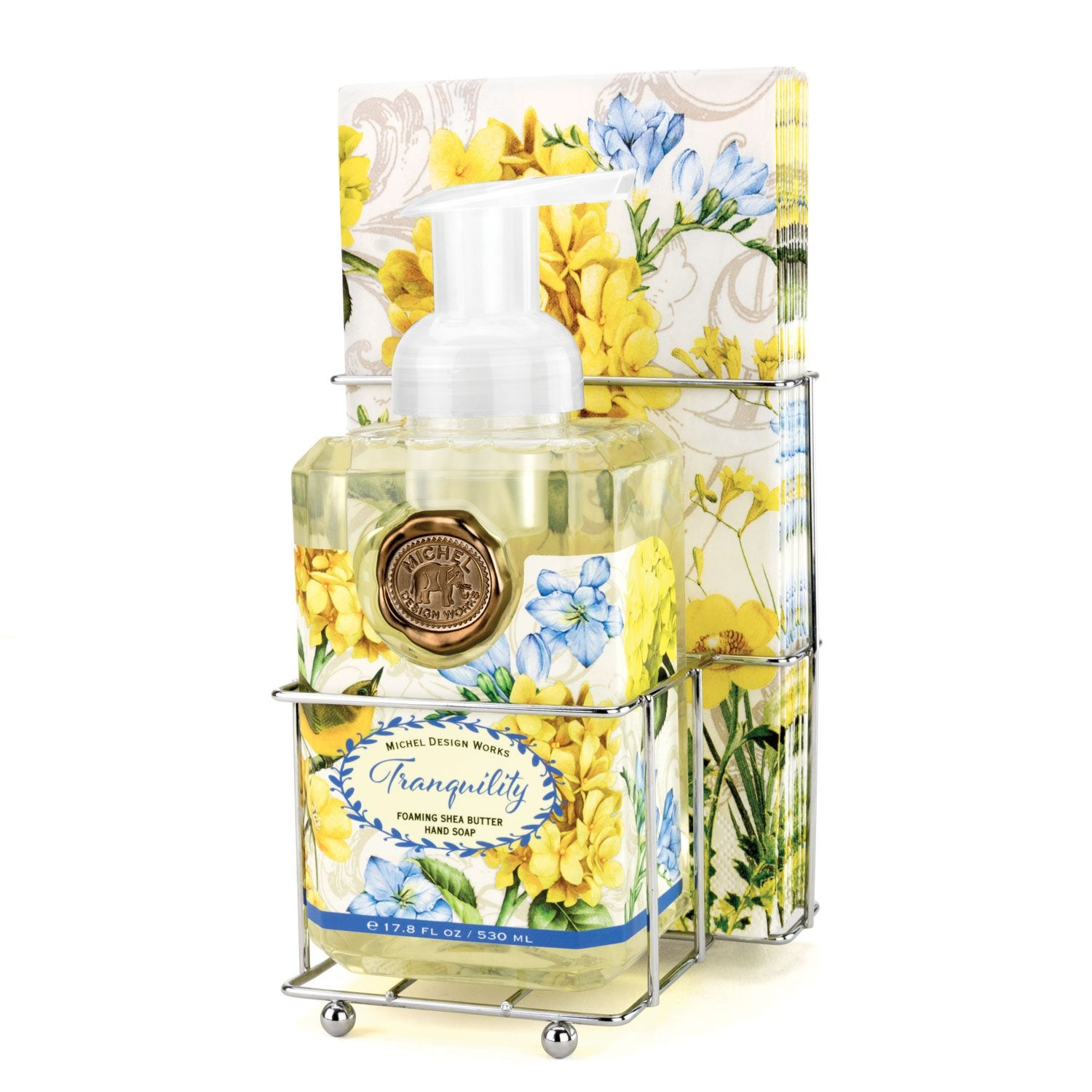 Tranquility Foaming Hand Soap Napkin Set