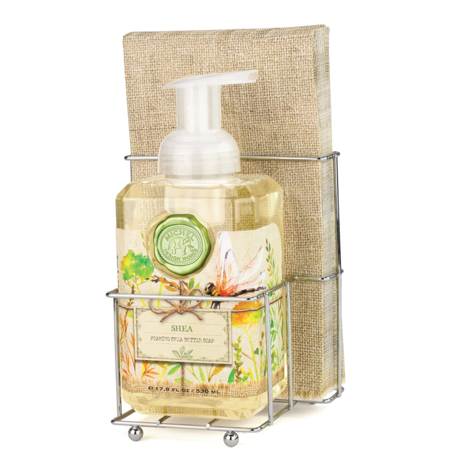 Shea Foaming Hand Soap Napkin Set
