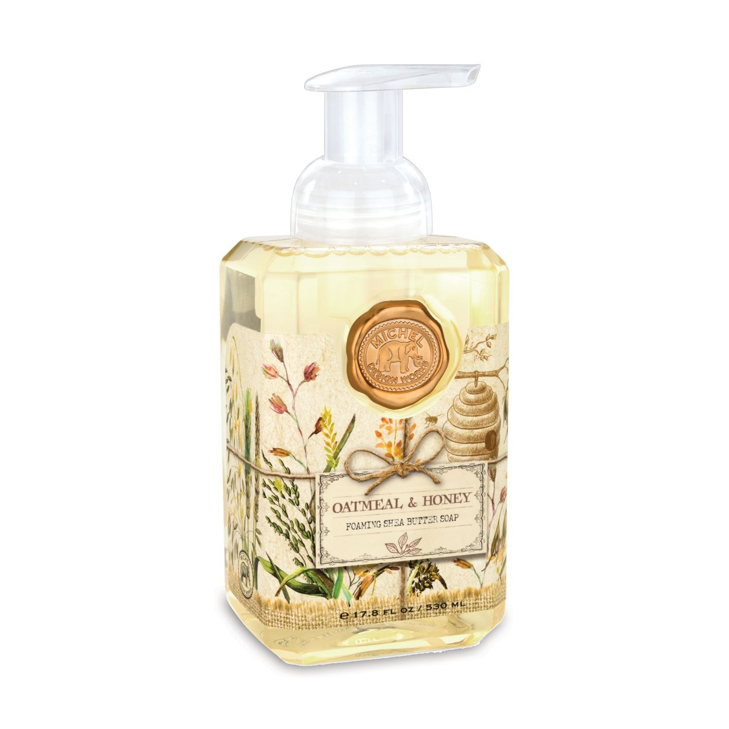 Oatmeal & Honey Foaming Hand Soap