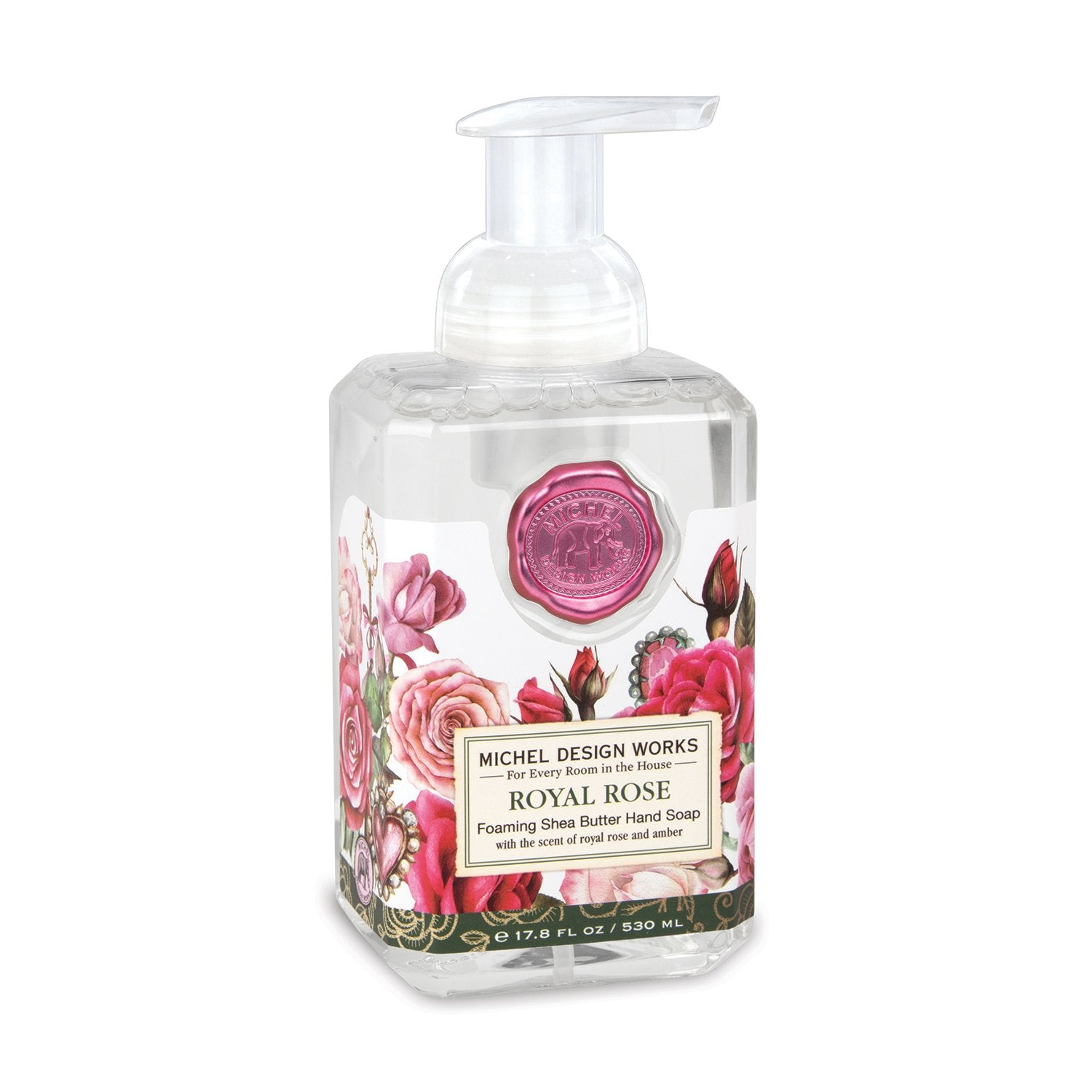 Royal Rose Foaming Soap