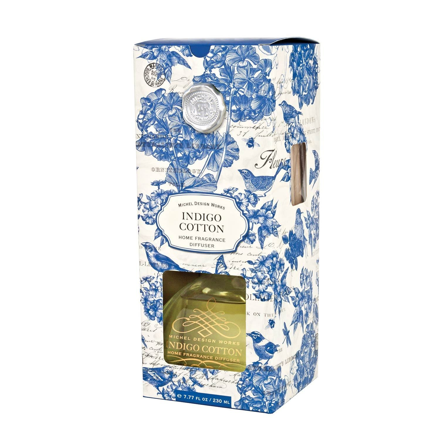 Indigo Cotton Home Fragrance Diffuser