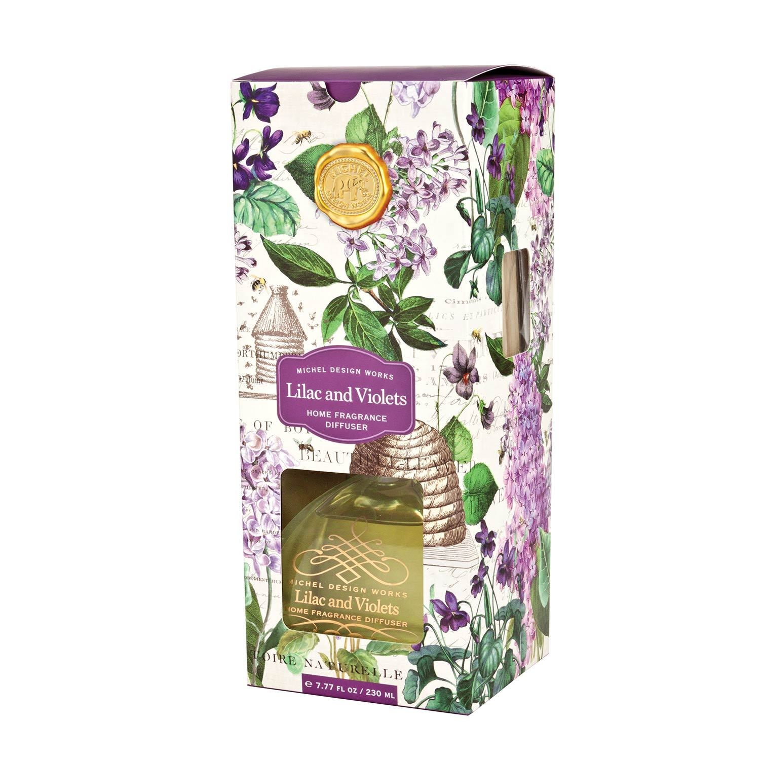 Lilac and Violets Home Fragrance Diffuser