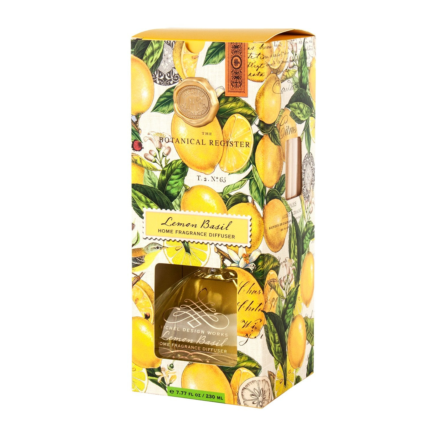 Lemon Basil Home Fragrance Diffuser