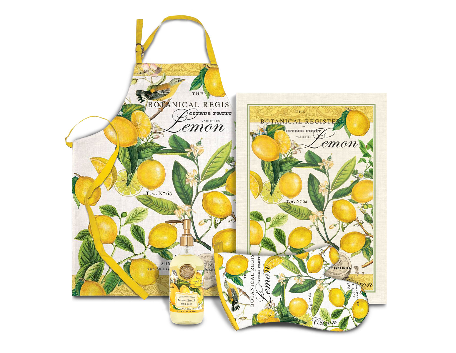Lemon Basil Kitchen Set