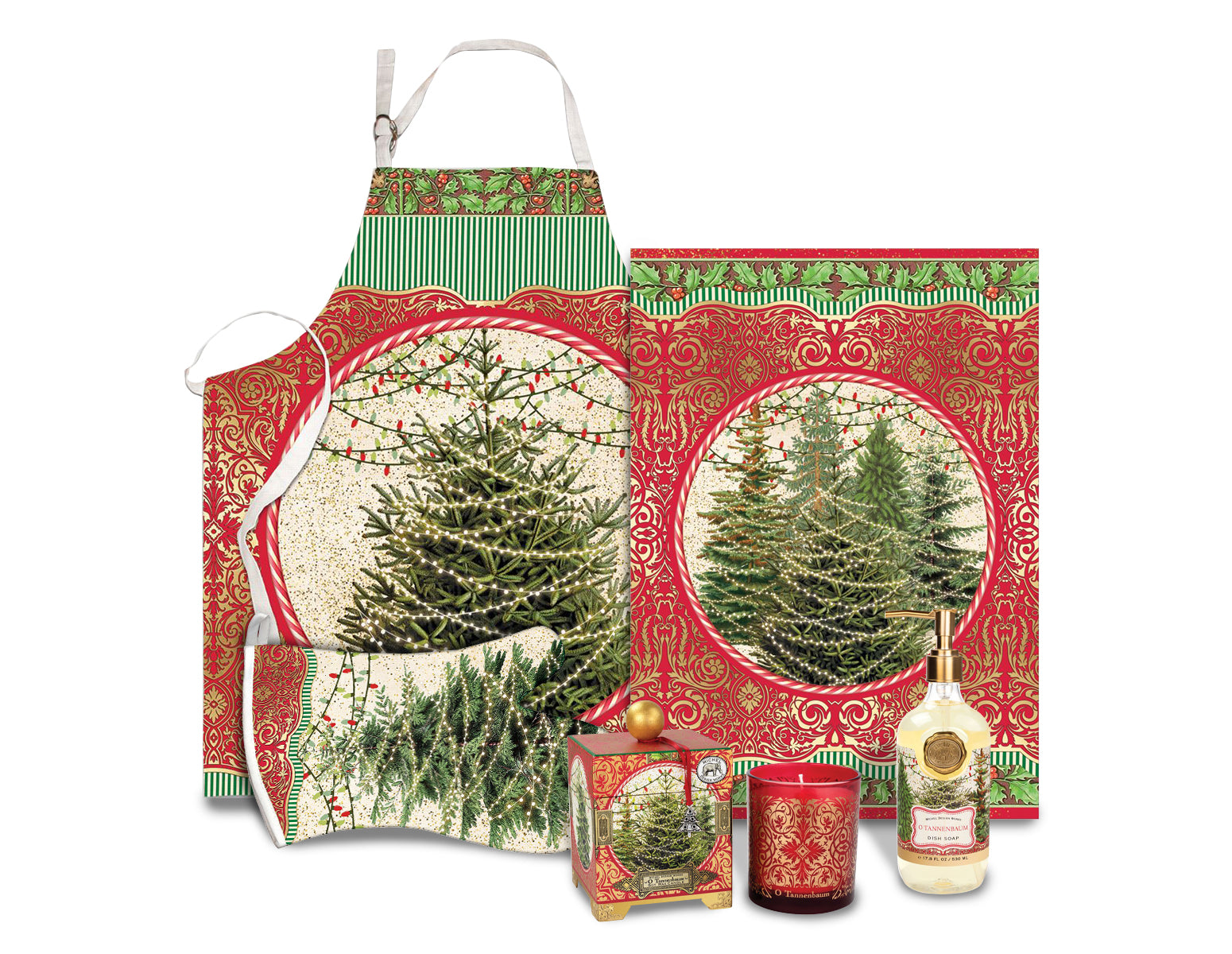 O Tannenbaum Kitchen Set
