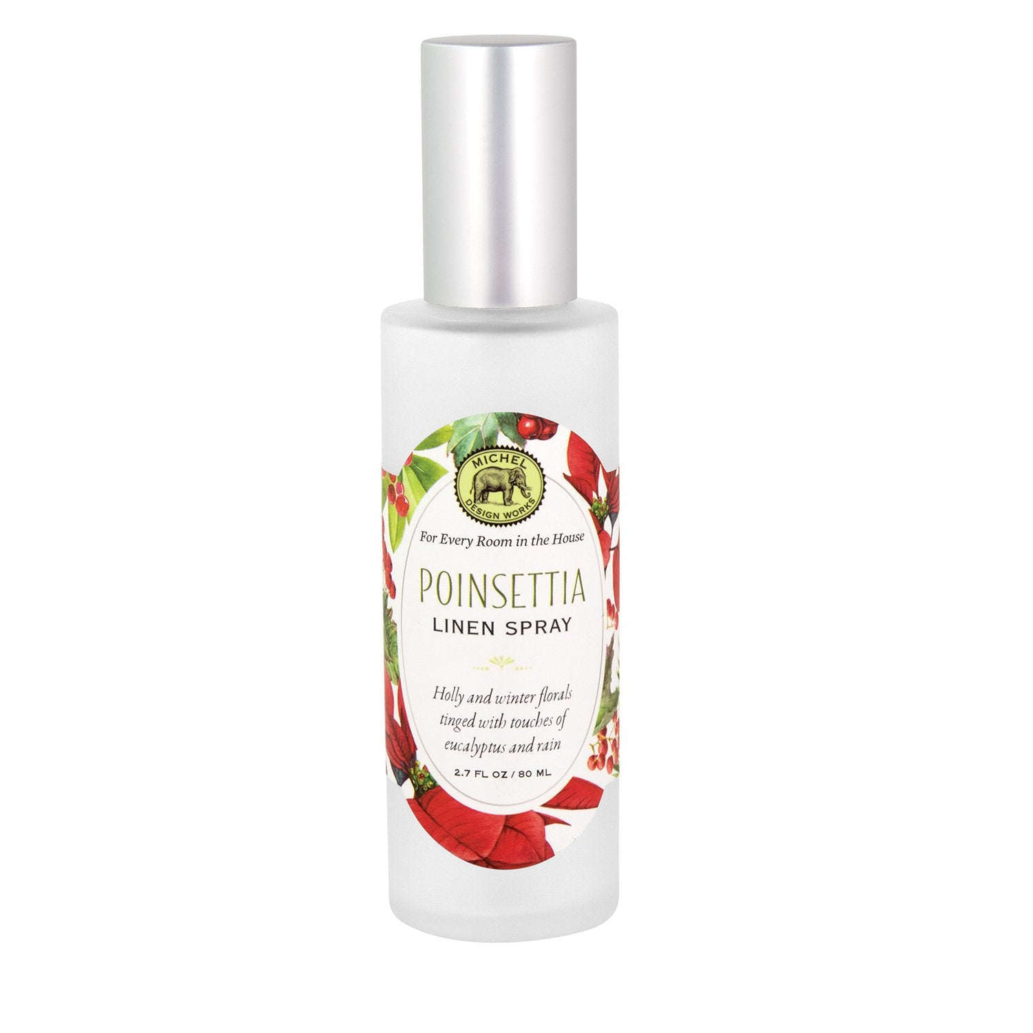 Poinsettia Linen Spray
