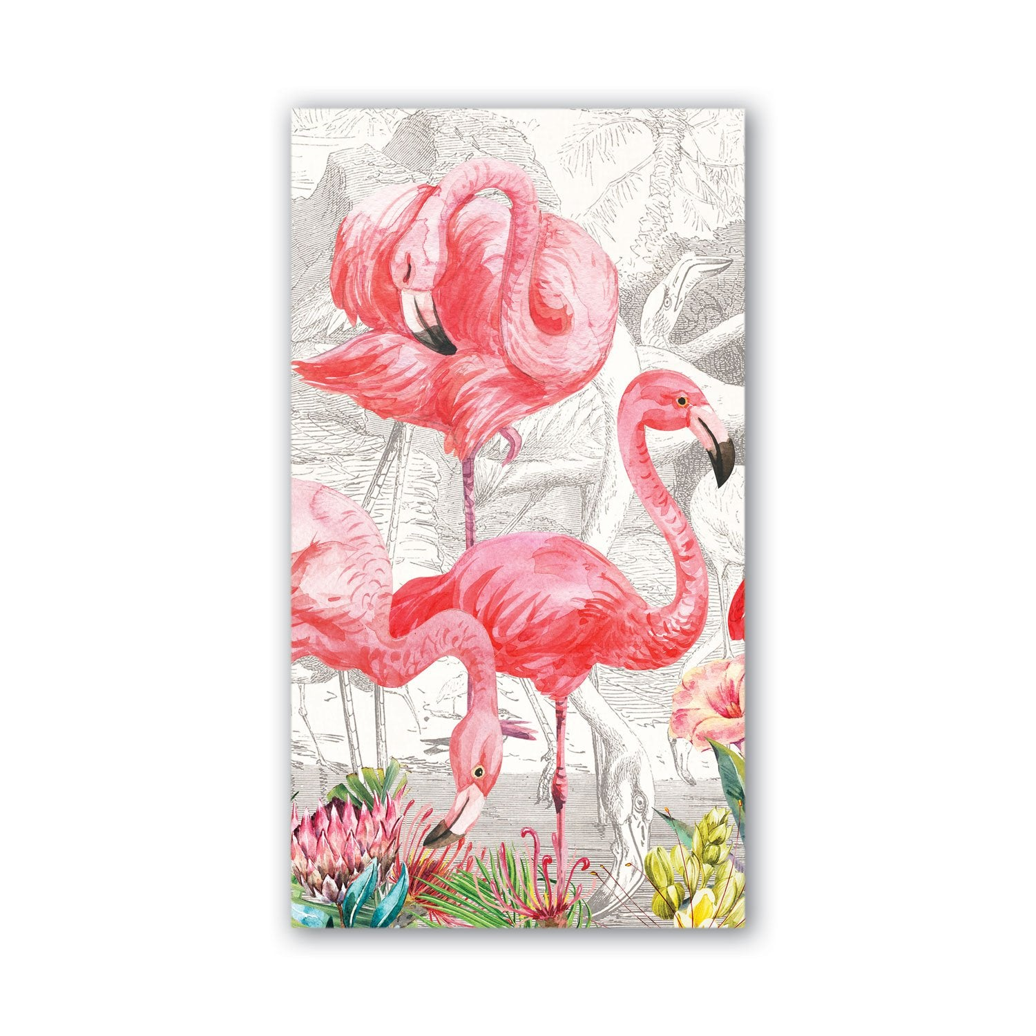 Flamingo Hostess Napkin