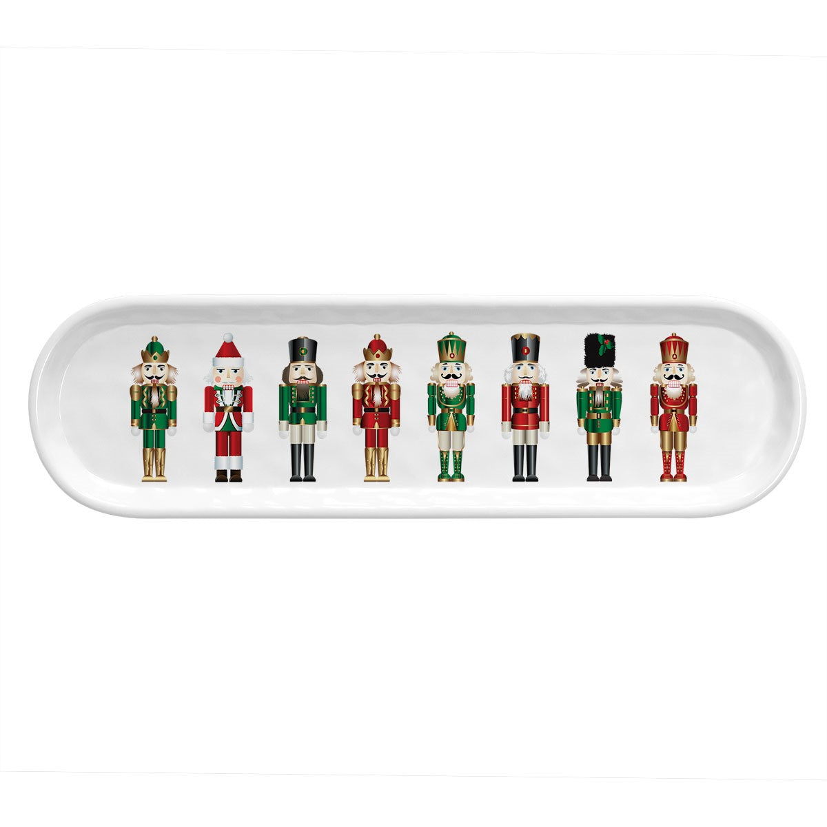 Nutcracker Serveware Hostess Set with Foaming Hand Soap