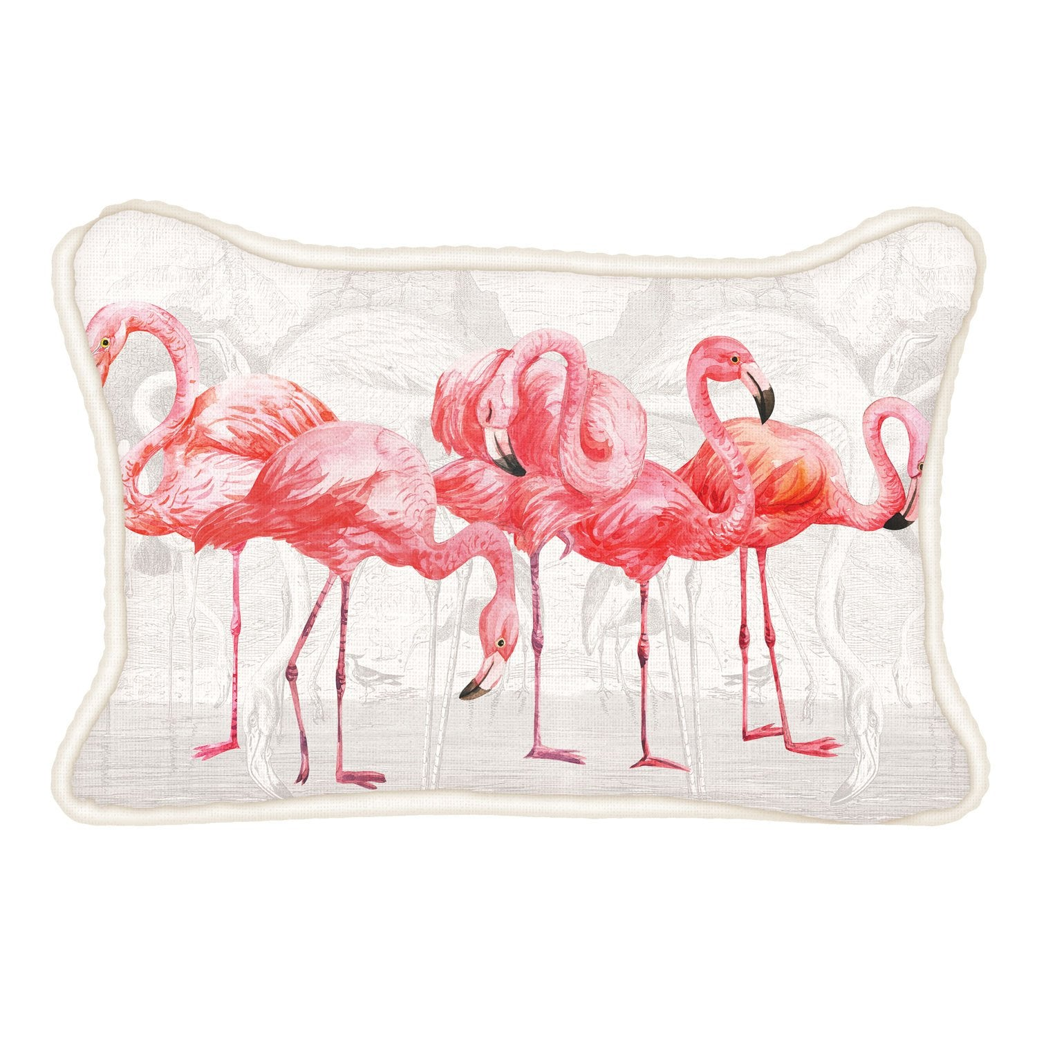Flamingo Rectangular Pillow