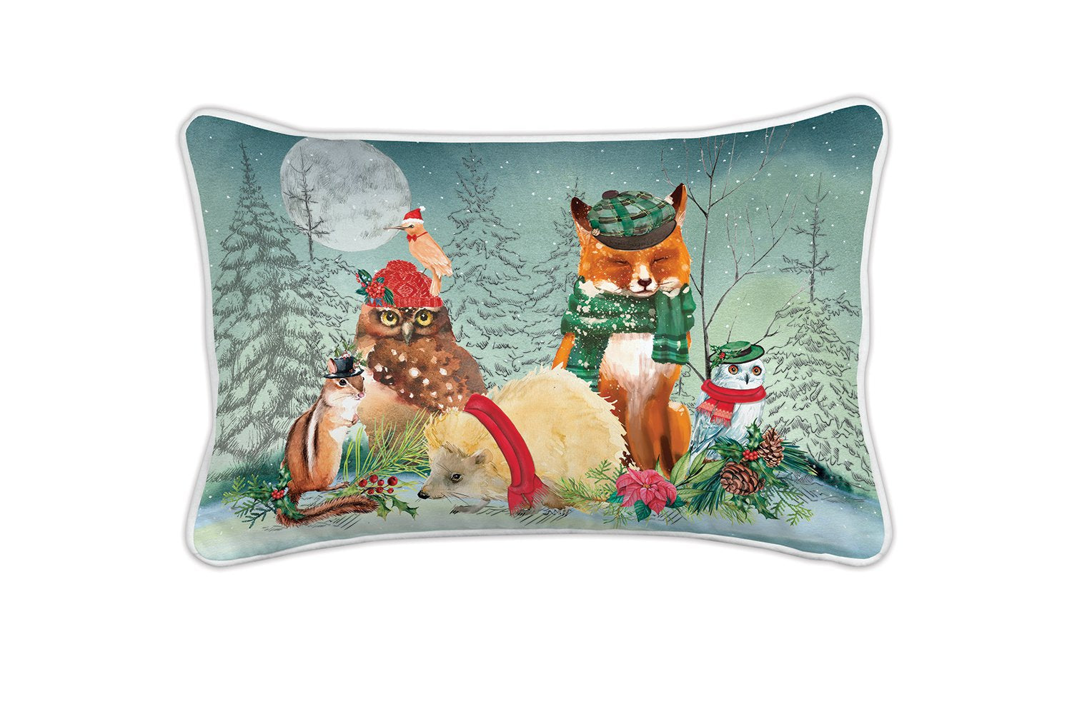 Christmas Party Rectangular Pillow