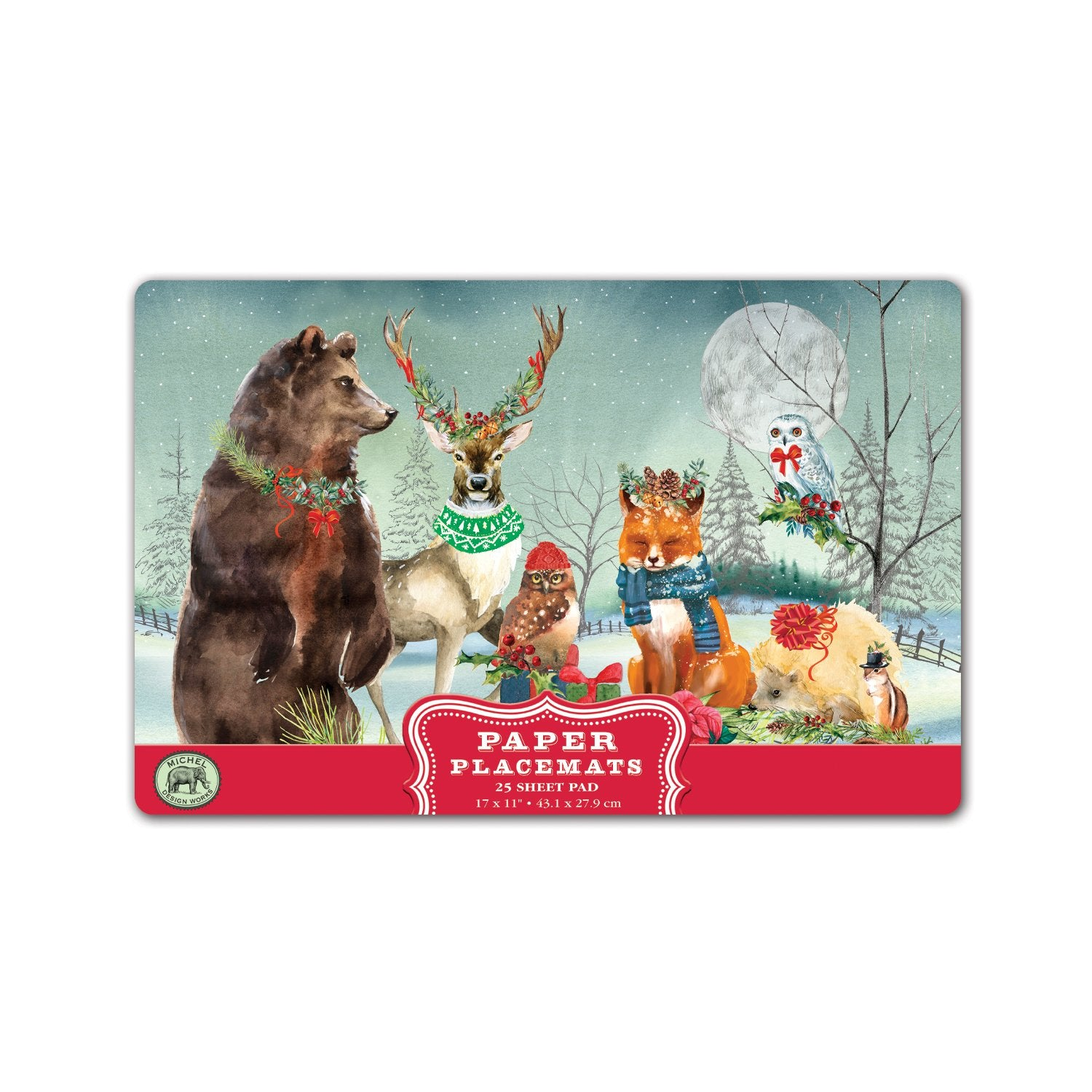 Christmas Party Paper Placemats