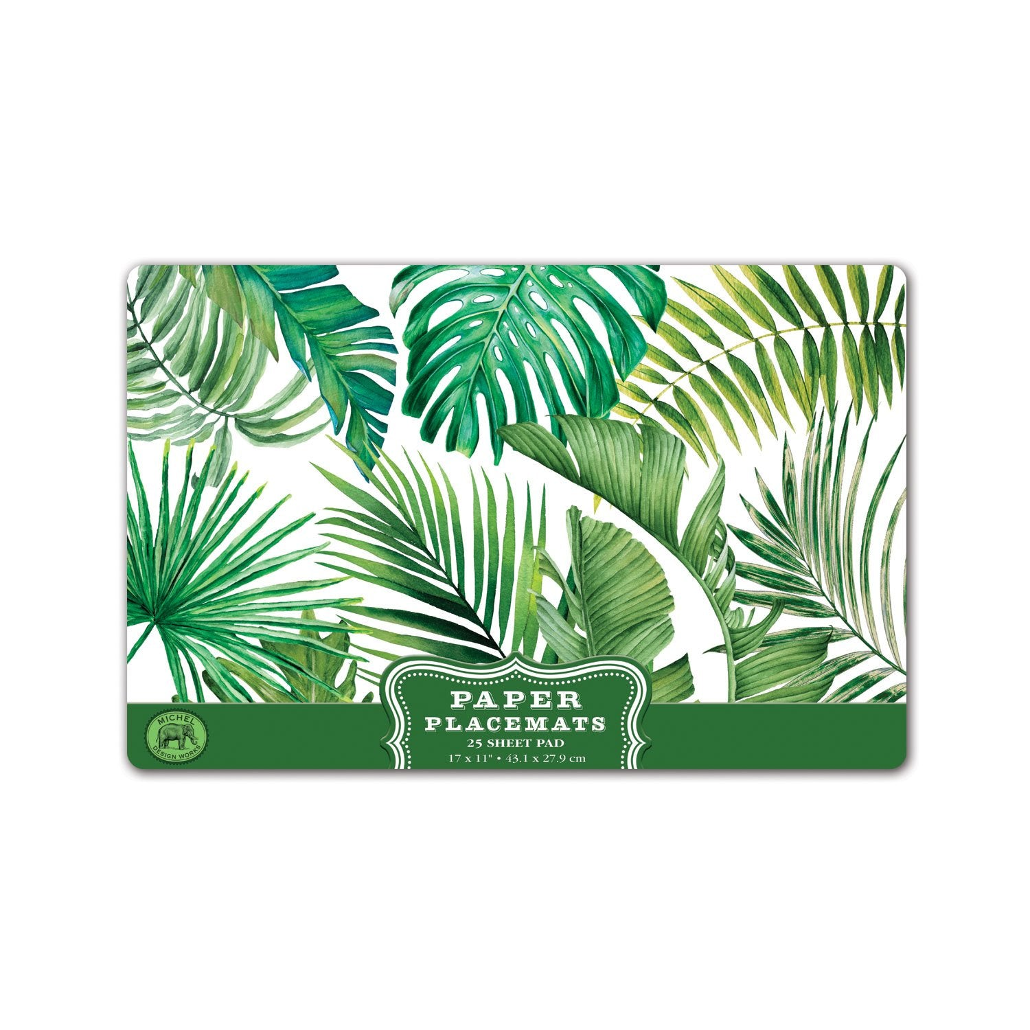 Palm Breeze Paper Placemats