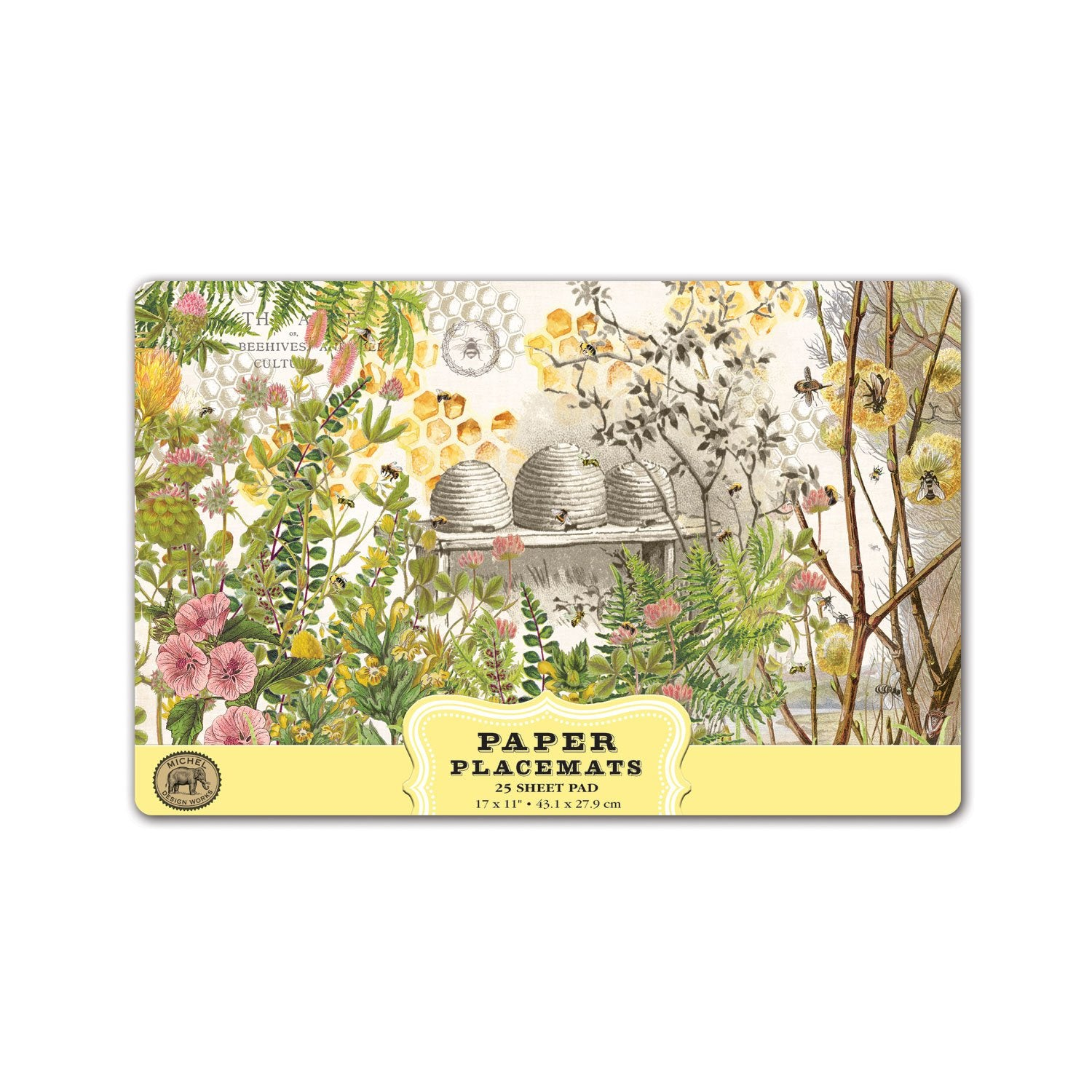 Honey & Clover Paper Placemats