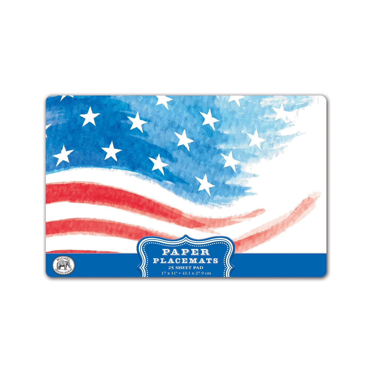 Red, White & Blue Paper Placemats