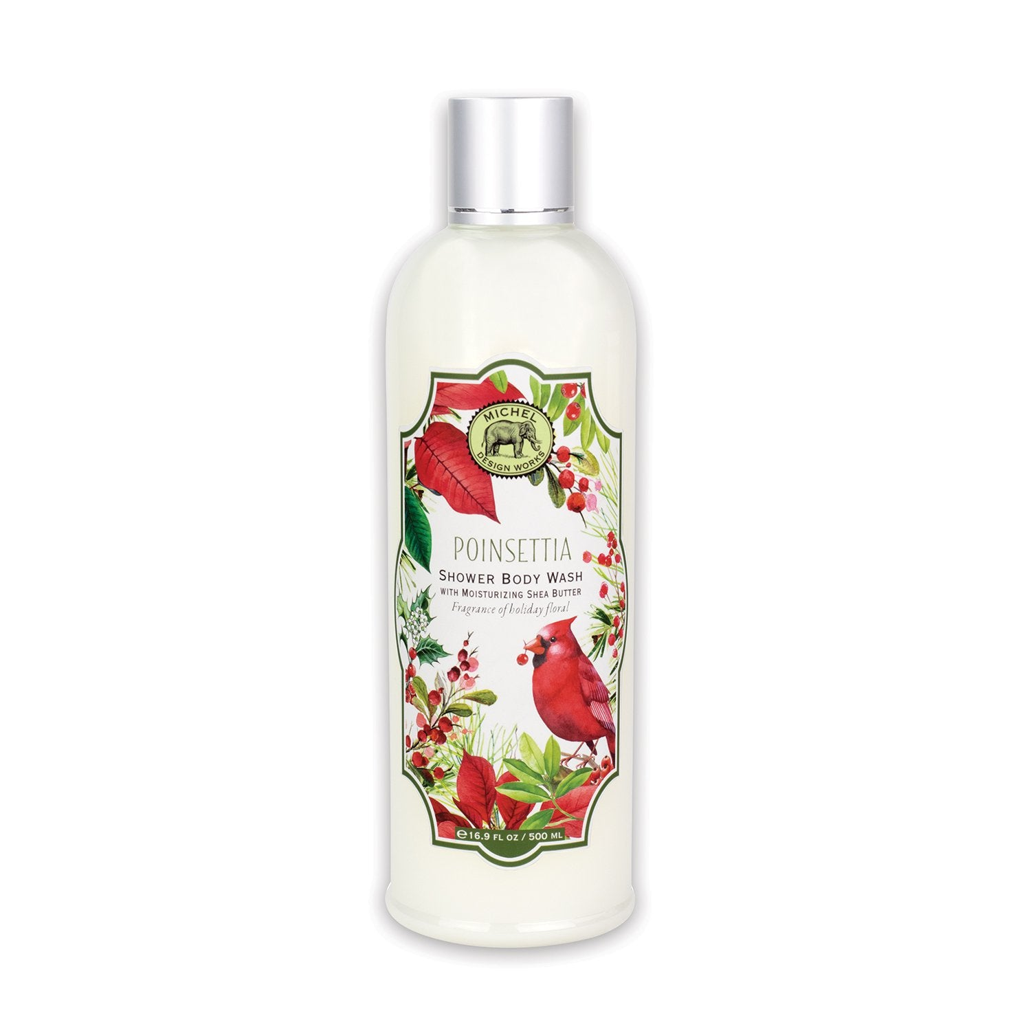 Poinsettia Shower Body Wash