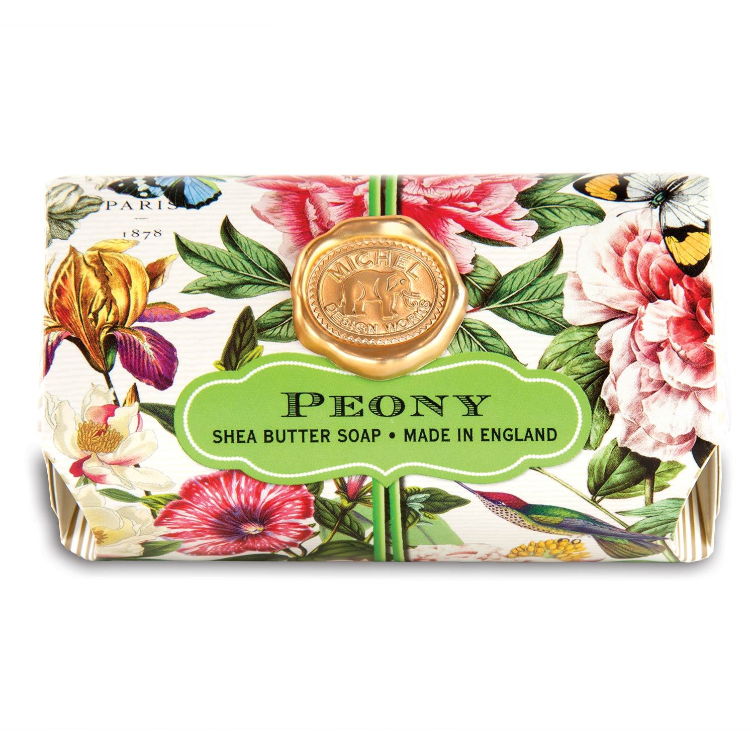 Peony Large Bath Soap Bar