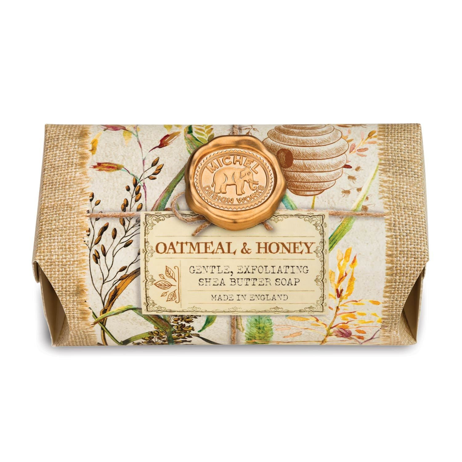 Oatmeal & Honey Large Bath Soap Bar