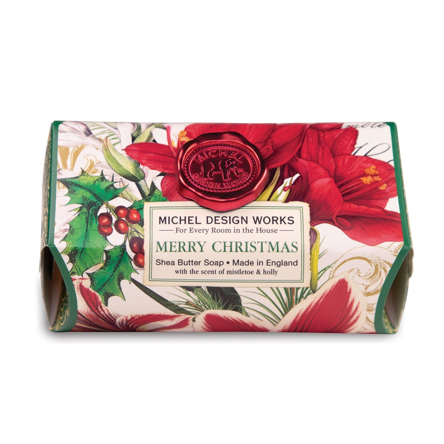 Merry Christmas Large Bath Soap Bar