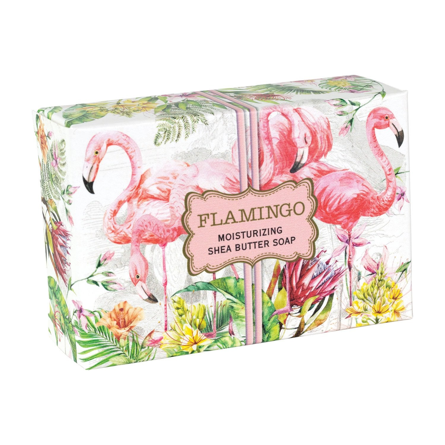 Flamingo Boxed Single Soap