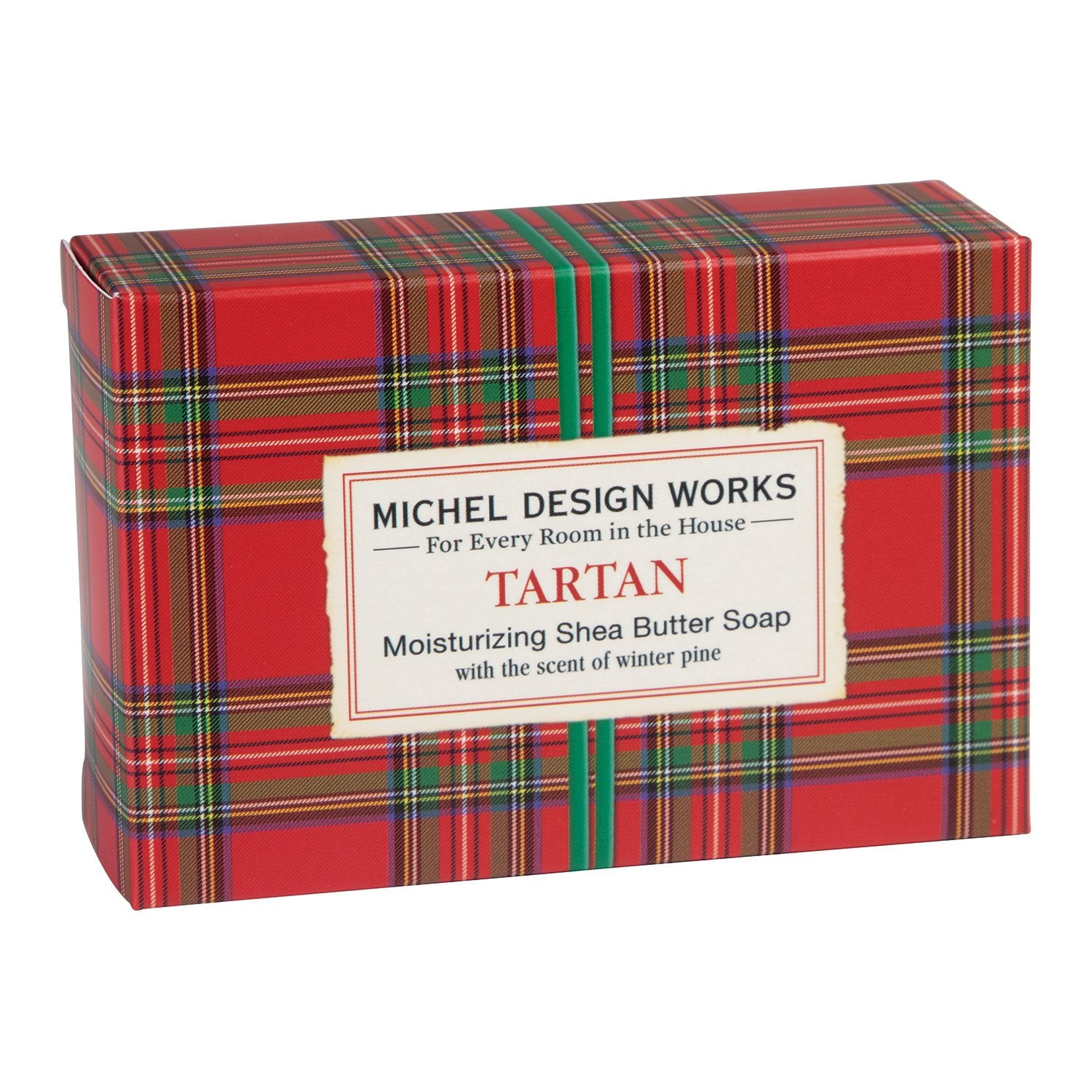Tartan 4.5 oz. Boxed Soap