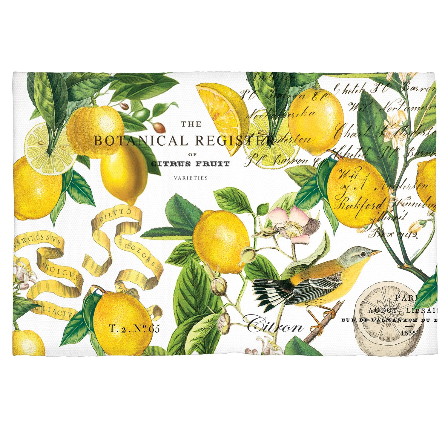 Michel Design Works Lemon Basil Scatter Rug Michel Design Works