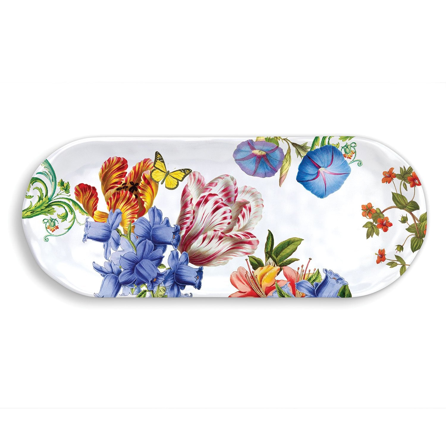 Summer Days Melamine Serveware Accent Tray