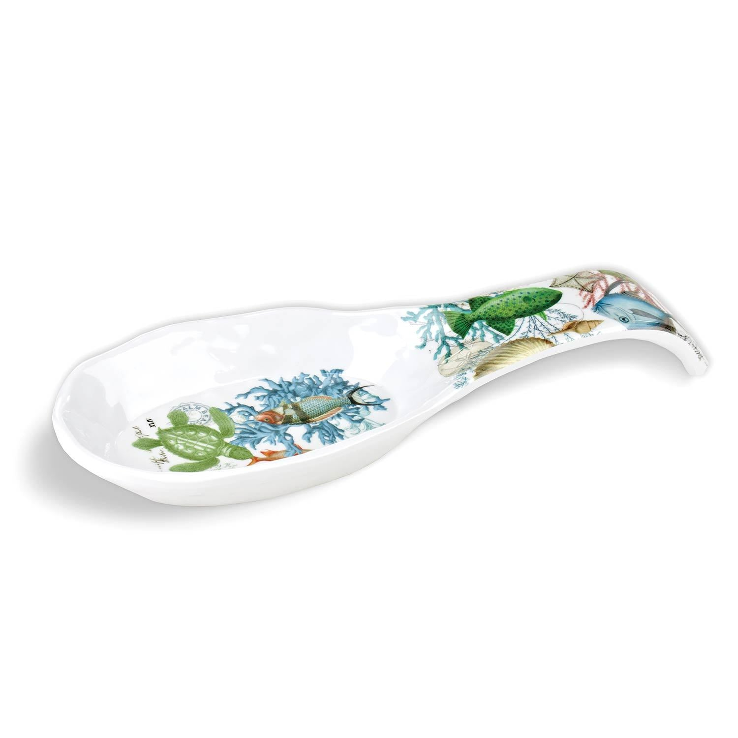 Sea Life Melamine Spoon Rest