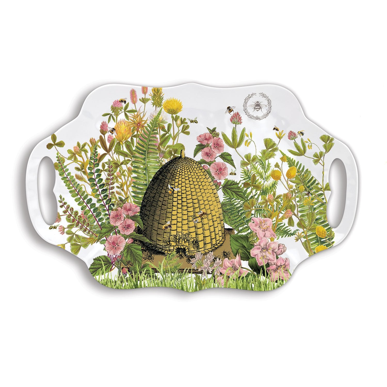Honey & Clover Melamine Serveware Serving Tray