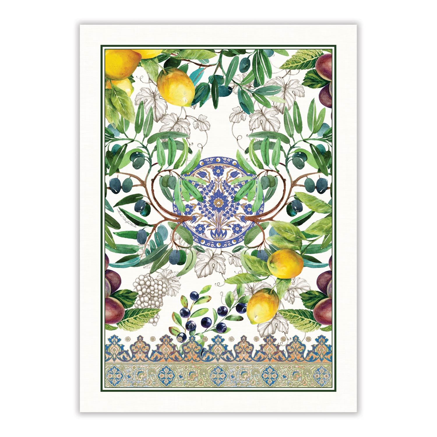 Tuscan Grove Kitchen Towel