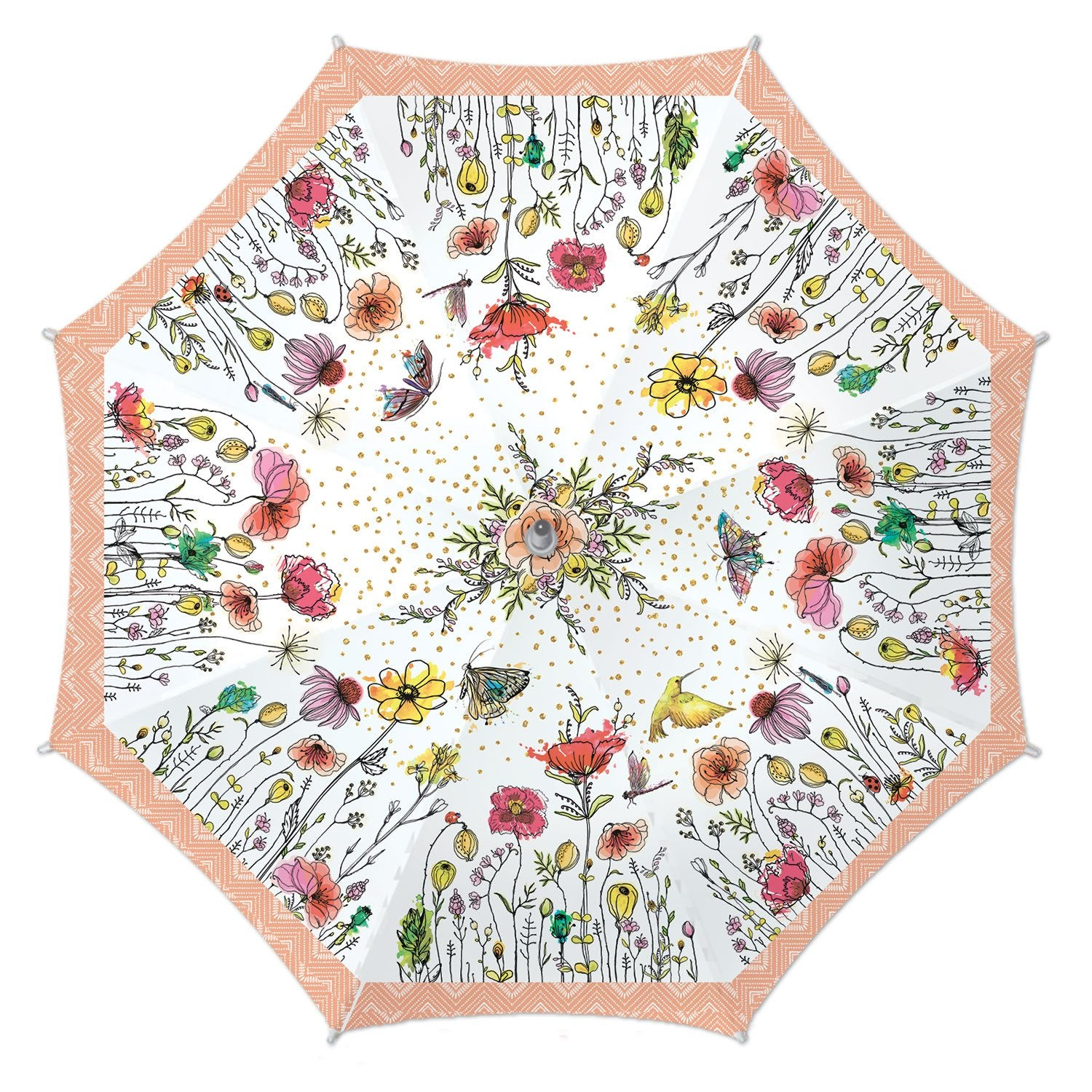 Posies Stick Umbrella
