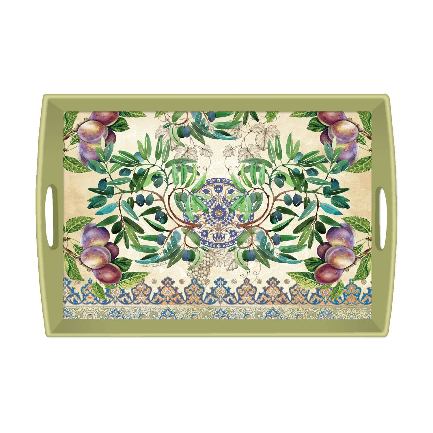 Tuscan Grove Decoupage Wooden Tray