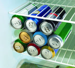 RakaStaka Cans - Space-Saving Beer and Soda Can Rack Ideal for in the Fridge (1 x Pack of 1) Supports 6+ Cans - As featured on Dragons' Den