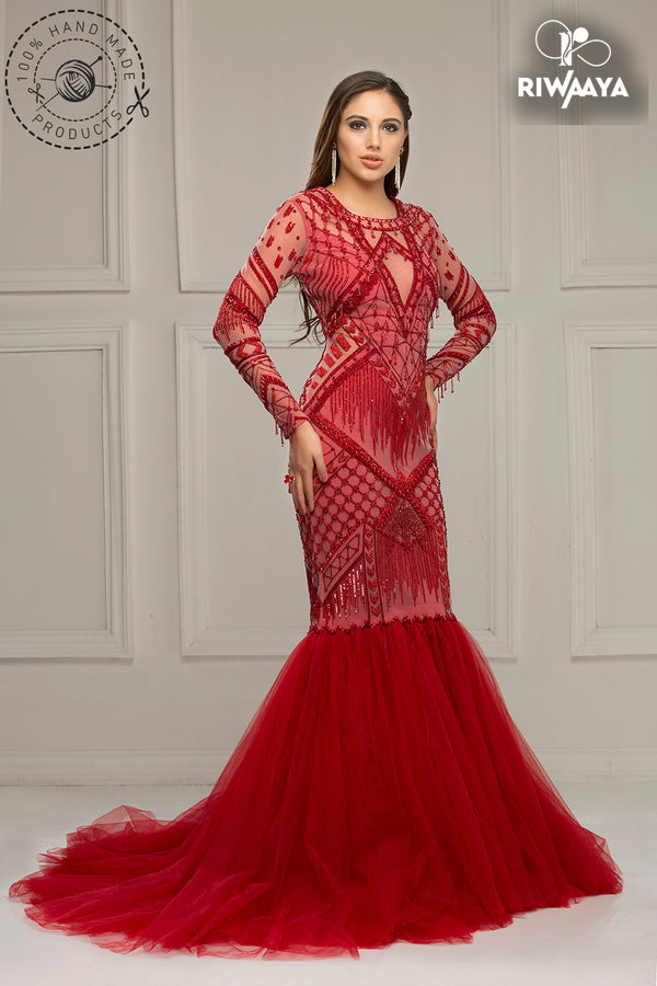 Red Wedding Dresses.The Red Alert Riwaaya S Red Wedding Gown