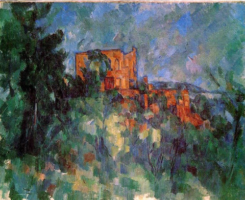 Chateau Noir by Paul Cezanne - Hand Painted Oil Painting