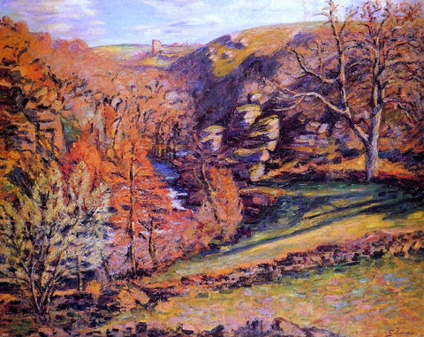 La Ravin de la Folie, Crozant by Armand Guillaumin - Hand Painted Oil Painting