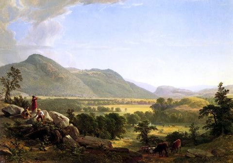 Dover Plain, Dutchess County, New York by Asher Brown Durand - Hand Painted Oil Painting