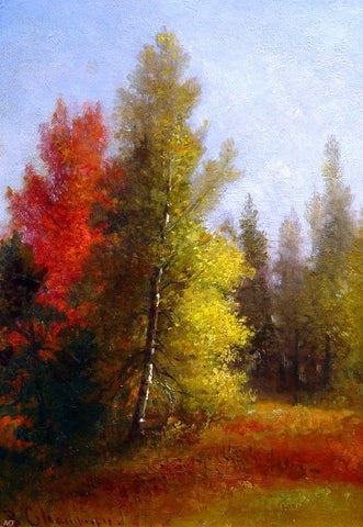 Autumn Landscape by Benjamin Champney - Hand Painted Oil Painting