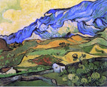 Les Alpilles, Mountain Landscape near South-Reme by Vincent Van Gogh - Hand Painted Oil Painting