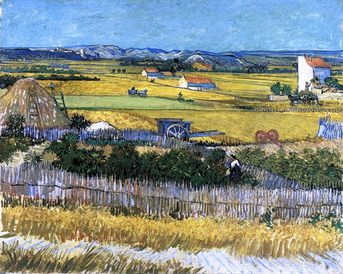 The Harvest by Vincent Van Gogh - Hand Painted Oil Painting