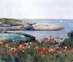 Poppies, Isles of Shoals by Frederick Childe Hassam - Hand Painted Oil Painting